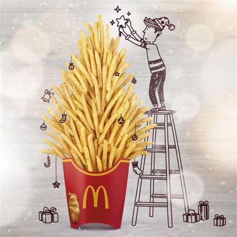 festive fast food illustrations creative instagram