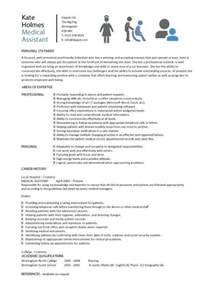 Sample Medical Assistant Resume Examples