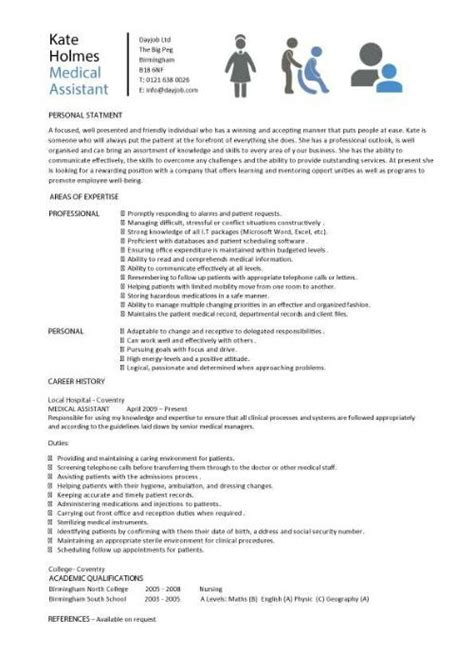 aide resume template assistant resume sles template exles cv