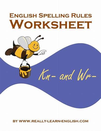 Spelling English Worksheets Worksheet Rules Ck Words
