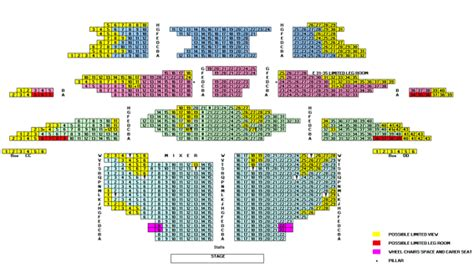 mill tyne theatre newcastle seating plan view
