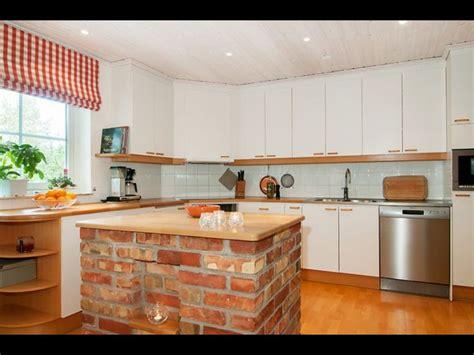 kitchen bricks design 20 beautiful brick and kitchen island designs 2334