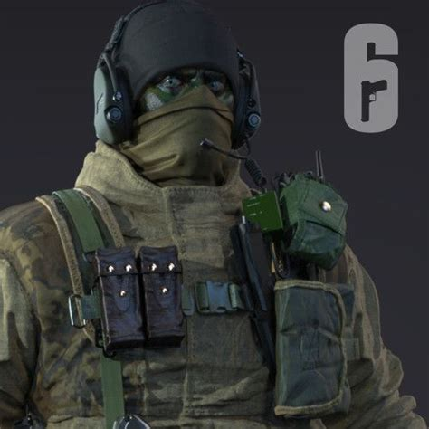 siege https glaz spetsnaz rainbow 6 siege j on artstation