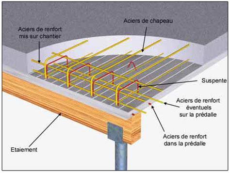 bureau d etude beton seac mise en oeuvre d 39 une prédalle