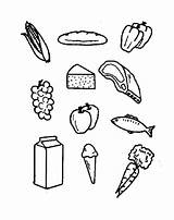 Coloring Pantry Template Templates sketch template