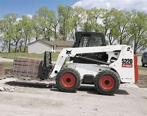 Bobcat S220 Turbo  S220 Turbo High Flow Skid  U2013 Steer