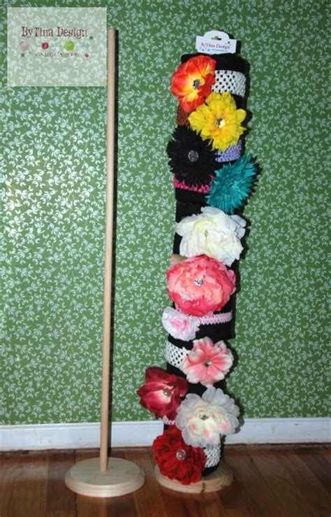 Just Made This Headband Display Holder To Put On The Table