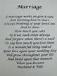 Marriage poem....   INSPIRATIONAL   Pinterest
