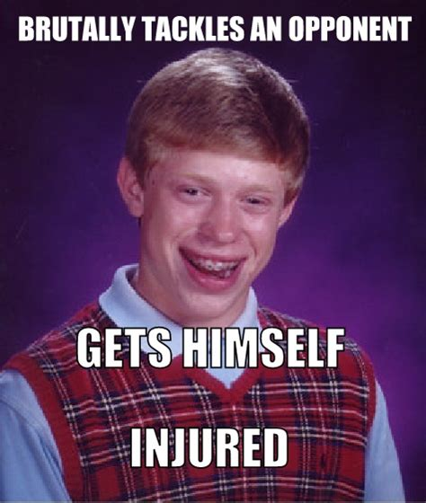 Funny Bad Luck Brian Memes - funny soccer memes collection