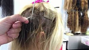 Removing Tape Hair Extensions YouTube
