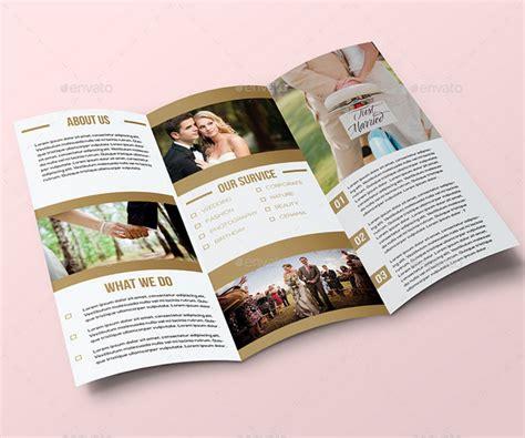 Tri Fold Event Program Template by 25 Wedding Program Brochure Templates