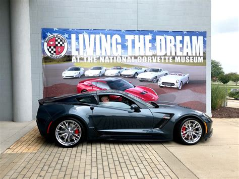 corvette delivered  shadow gray gm authority