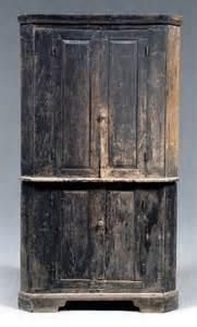 Southern Antique Corner Cupboard