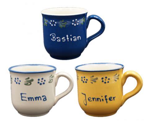 le mit namen tasse mit namen geschirr geschenkideen namenstasse classic carstens keramik