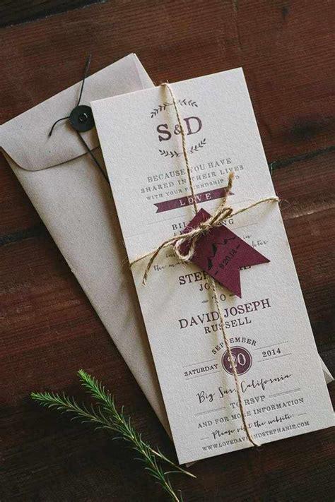 10 Creative and Gorgeous DIY Wedding Invitation Ideas in