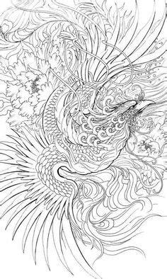 traditional japanese phoenix drawing - Google Search   Tattoos   Phoenix tattoo design, Japanese