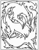 Coloring Pages Advanced Abstract Adults Flaming Fire Printable Hole Colouring Number Designs Numbers Getcoloringpages Popular Comments sketch template