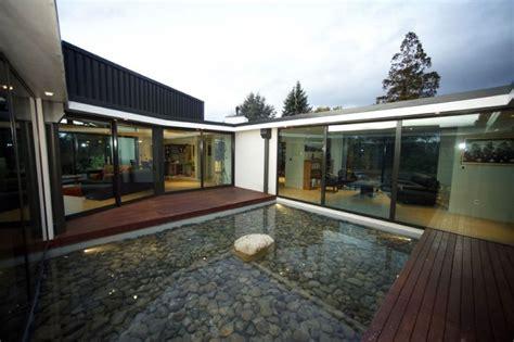 Innenhof Römischer Häuser by Einzigartiges Haus In Einer Abgelegenen Gegend In Neuseeland