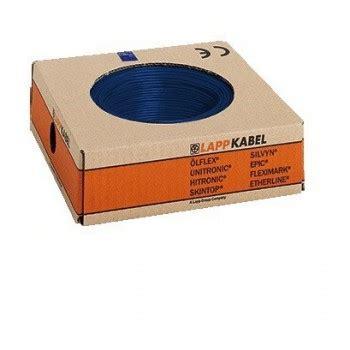 h07v k 1 5mm2 montagedraad h07v k 1 5mm2 donkerblauw