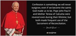 Donald Wuerl qu... Sacrament Of Penance Quotes