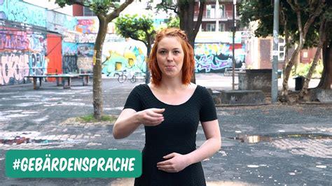 gebaerdensprache schoene sprache  youtube