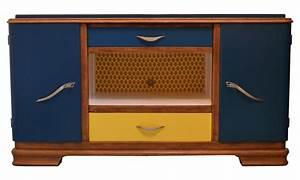 Meuble Tv Vintage :  ~ Teatrodelosmanantiales.com Idées de Décoration