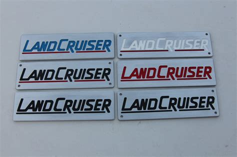 Landcruiser Custom Label,emblem