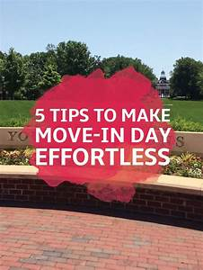 5 Tips to Make Move-In Day Effortless   Packing tips for ...