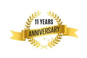 11 year wedding anniversary accreditations