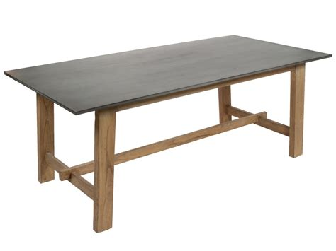 mesa  metros  comedor de madera natural  gris estilo