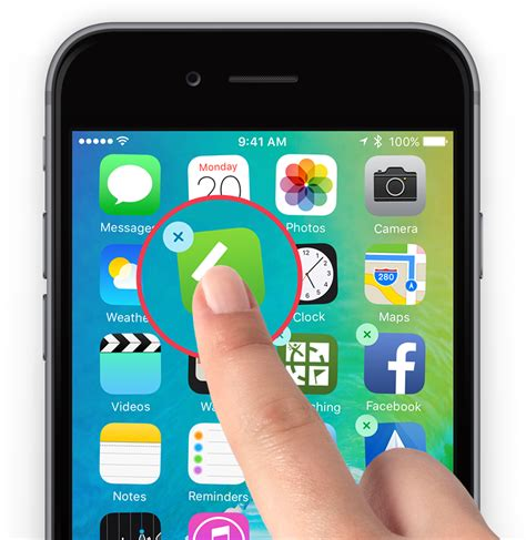 guide how to move or delete apps ios 9 tapsmart