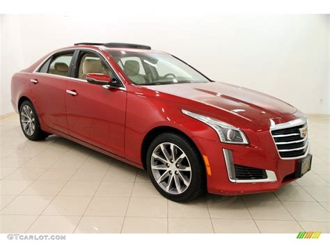 2016 Red Obsession Tintcoat Cadillac Cts 2.0t Luxury Awd
