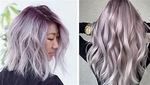 21 Pretty Lavender-Gray Hair Ideas to Try This Season ...