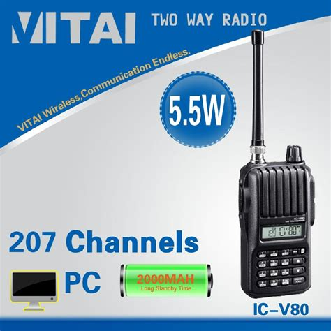 vhf radio range ic v80 vhf range two way radios icom china manufacturer wireless equipment