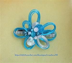 creation bijoux fantaisie barette design fleur en fil d With fabrication bijoux fantaisie