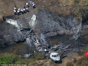 Private jet 'never lifted off the ground' before fiery ...