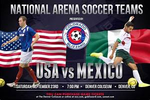 U.S. Men's Arena Soccer team takes on Mexico in Denver ...
