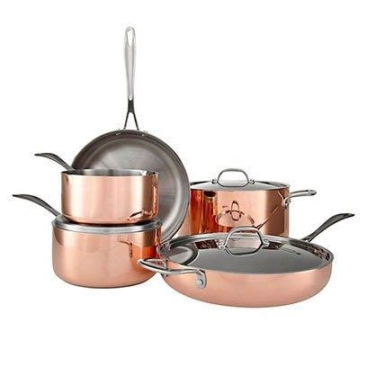 rose gold pans  perfect copper pans  john lewis     click  picture