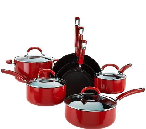 circulon porcelain cookware safe dishwasher piece qvc