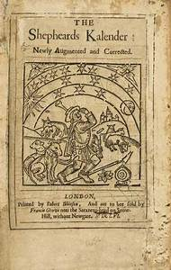 Barclay  Alexander  The Shepheards Kalender Newly
