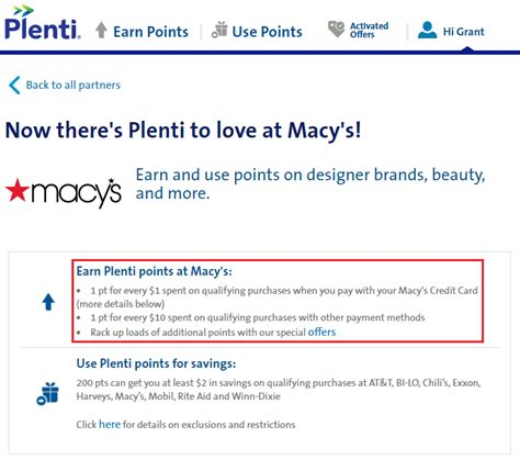Maybe you would like to learn more about one of these? Macy's AMEX Offer: Off 0 (Stack with 1x MR Offer or Ebates In-Store Cash Back)