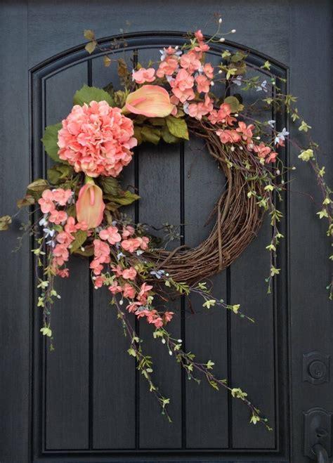 beautiful thanksgiving wreaths   front door