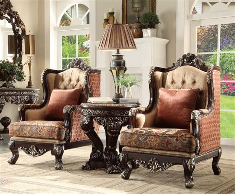 Do you think victorian sofa set appears nice? HD 111 Homey Design upholstery living room set Victorian ...