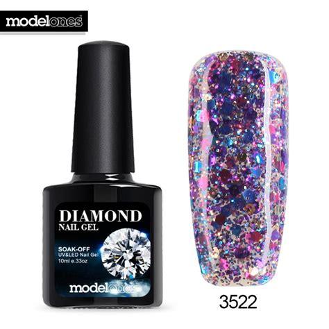 uv l nail polish modelones professional uv gelpolish glitter uv