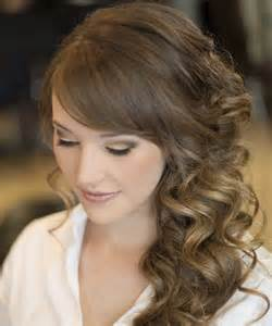 2016 Long Curly Wedding Hairstyles