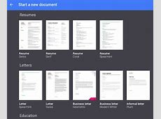 Templates, Insights and Dictation in Google Docs