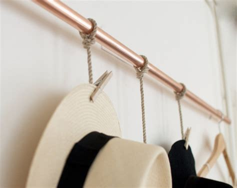diy hat rack diy hanging hat rack simple chic