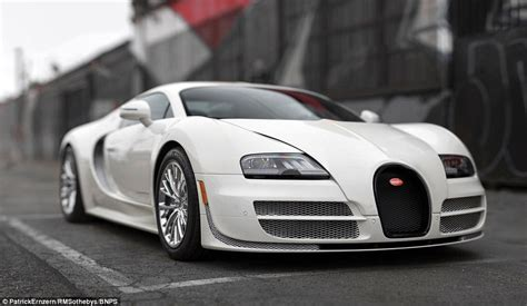 Bugatti Veyron's Sothebys Auction Expected To Reach £3.5m