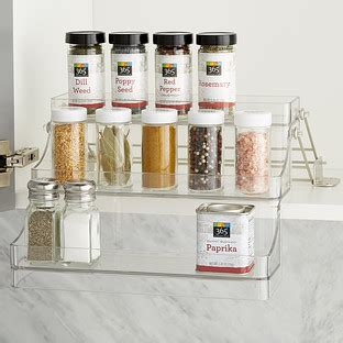 Container Store Spice Rack by Interdesign Linus Easy Reach Spice Rack The Container Store