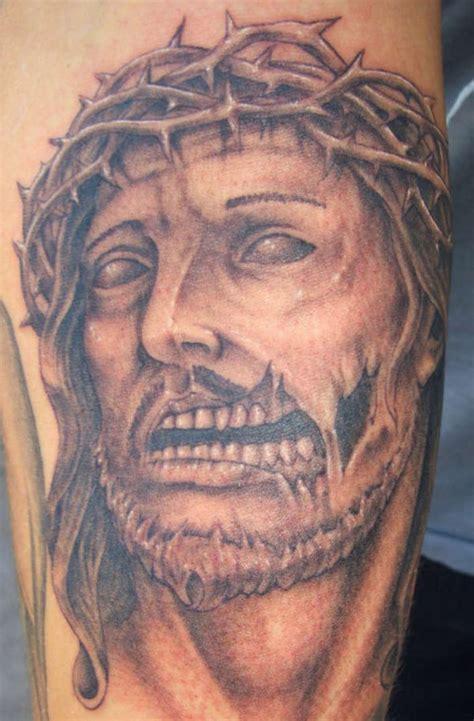 eat  flesh zombie jesus tattoos cvlt nation